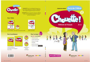 014 CHOUETTE 2 LIVRE ELEVE + CD