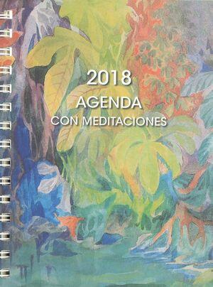 018 AGENDA CON MEDITACIONES