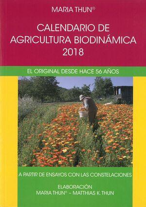 018 CALENDARIO AGRICULTURA BIODINAMICA 2018