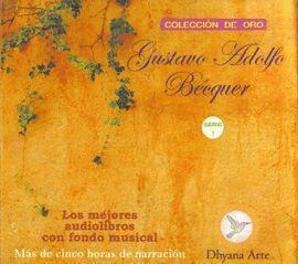 CD'S GUSTAVO ADOLFO BECQUER -SERIE 1 ( 5 CD'S +BIOGRAFIA AUTOR)