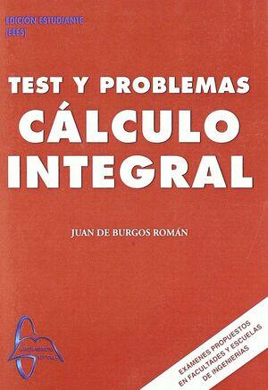 TEST Y PROBLEMAS DE CALCULO INTEGRAL