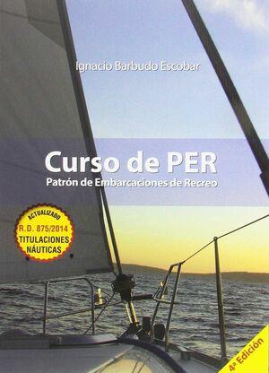 018 CURSO DE PER. PATRON DE EMBARCACIONES DE RECREO
