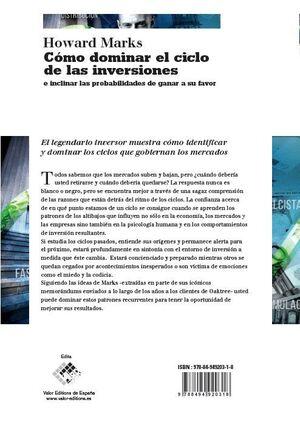 CÓMO DOMINAR EL CICLO DE LAS INVERSIONES E INCLINAR LAS PROBABILIDADES DE GANAR A SU FAVOR
