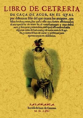 LIBRO DE CETRERIA DE CAZA DE AZOR