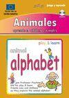 ANIMALES. APRENDA EL ALFABETO EN INGLES. LIBRO+CD