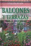 LEXICON DE LOS BALCONES Y TERRAZAS.COMBINACIONES-PLANTAS-CUIDADOS