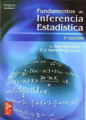 FUNDAMENTOS DE INFERENCIA ESTADISTICA 3ªEDICION