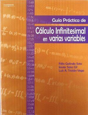 GUIA PRACTICA CALCULO INFINITESIMAL EN VARIAS VARIABLES