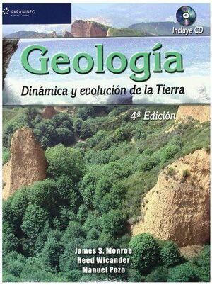 GEOLOGIA. DINAMICA Y EVOLUCION DE LA TIERRA +CD