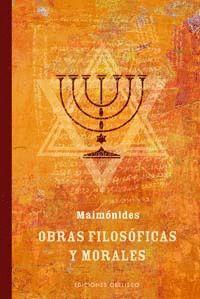 OBRAS FILOSOFICAS Y MORALES