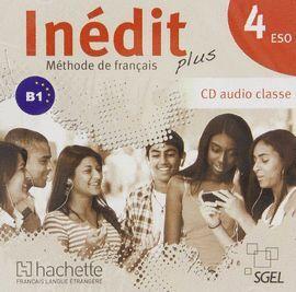 CD-AUDIO -INEDIT 4¦ESO B1 -METHODE DE FRANCAIS AUDIO CLASSE