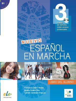 NUEVO ESPAÑOL EN MARCHA 3  ALUMNO +CD
