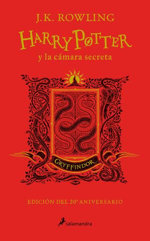 T2 HARRY POTTER Y LA CÁMARA SECRETA. GRYFFINDOR