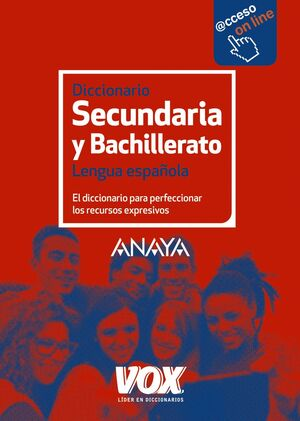 017 DICCIONARIO SECUNDARIA Y BACHILLERATO LENGUA ESPAÑOLA