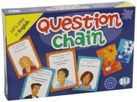 QUESTION CHAIN -LET'S PLAY IN ENGLISH -LEVEL A2-B1