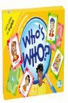 WHO'S WHO? LET'S PLAY IN ENGLISH