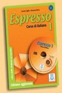 010 ESPRESSO 1 A1 CORSO DI ITALIANO LIBRO DEL ALUMNO+EJERCICIOS