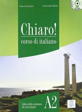 CHIARO 2 ITIANO. LIBRO DELLO STUDENTE A2 +CD ROM