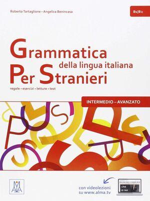 GRAMMATICA LINGUA ITALIANA PER STRANIE LIBRO 2  B1/B2