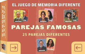 JUEGO DE MEMORIA DIFERENTE - PAREJAS FAMOSAS