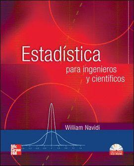 ESTADISTICA PARA INGENIEROS Y CIENTIFICOS + CD