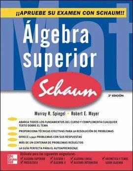 ALGEBRA SUPERIOR SCHAUM 3 EDICION