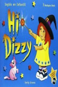 *** 005 /HI DIZZY (+CD) -INGLES EN INFANTIL