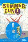 009 1ESO SUMMER FUN. INGLES PARA LAS VACACIONES (+CD)