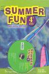 010 4ESO SUMMER FUN -INGLES PARA LAS VACACIONES (+CD)
