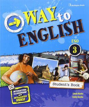 016 3ESO SB WAY TO ENGLISH